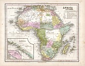 Map of Africa,1844