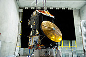 ExoMars spacecraft anechoic testing
