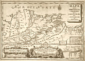Map of the Orinoco River,1741
