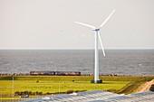 Wind turbine in Workington,UK