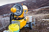 Snow machine in the Cairngorms