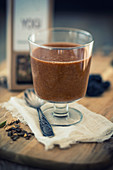 Prune-chai smoothie