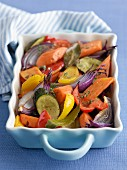 Mixed roast vegetables