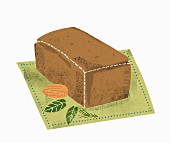 A whole loaf of bread (illustration)