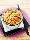 Stir-fried Vegetarian Mee Goreng