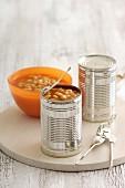 Baked Beans in Konservendosen