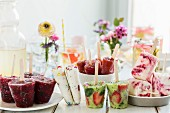 Sommerliche Eis-Party