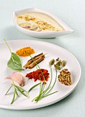 Herbs and spices for making marinades