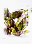 Artichokes in a jar