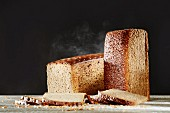 Brown bread and wholemeal bread