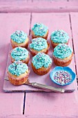 Mascarpone cream muffins