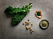 Super foods: kale, cardamom, spirulina and stinging nettle powder