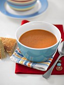 Tomato Soup With Cheese Toasties
