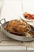 Roast Chicken with Lemon Stuffing
