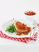 Pork Cutlets with Tomato and Capers