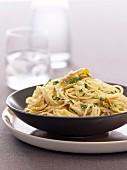 Ricotta and Artichoke Spaghetti