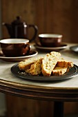 Orange Biscuits with Pine Nuts