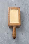 Butter in Holzform