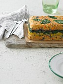 Vegetable terrine with basil