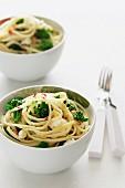 Linguine with Broccolini & Ricotta