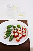 Sardines & Cherry Tomatoes with Ricotta & Basil