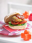 Kids Chicken Burgers