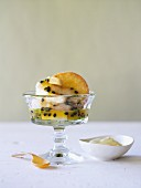 Custard Apple & Passionfruit Parfait