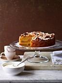 Apple & Pine Nut Cake