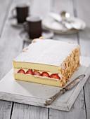 Strawberry & Grand Marnier Cream Cake