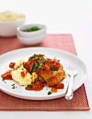 Tomato & chilli chicken (arrabbiata)