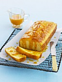 Low-fat Mandarin Syrup Cake
