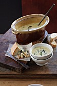 Cheesy Corn Soup