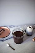 Salted Caramel Fugde Sauce im Glas
