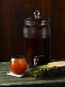 Tepache (fermented pineapple drink, Mexico)