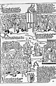 Leprosy care,15th century
