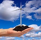Alternative energy sources,concept