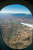 Flight over Oaxaca,Mexico