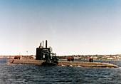 USS Nautilus submarine,1977