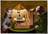 Praxinoscope theatre illustration