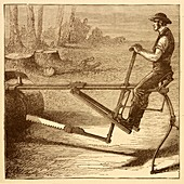 Dragsaw sawing machine