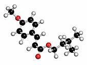 Amiloxate sunscreen molecule
