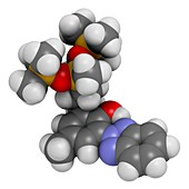 Drometrizole trisiloxane molecule