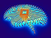Artificial intelligence,illustration