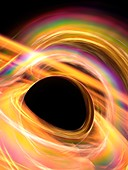 Black hole,artwork