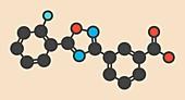 Ataluren genetic disorder drug molecule