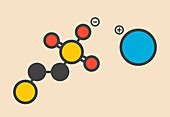 Mesna drug molecule