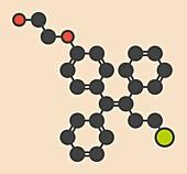 Ospemifene dyspareunia drug molecule