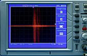 Oscilloscope display panel