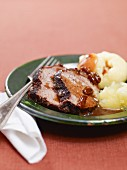 Sauerbraten with dumplings