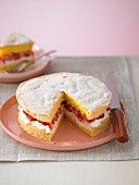 Strawberry & Ricotta Sponge Cake